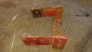 Massey Harris 30 Tractor Drawbar Main Bracket Mh Part 33 44 Hitch Part