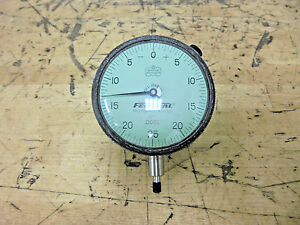 Mahr Federal D71 Dial Drop Indicator 125 Range X 0005 Grad 0 25 0 Reading