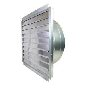 Ventamatic If36 36 inch 9 000 cfm Heavy Duty Exhaust Fan With Integrated Shutter