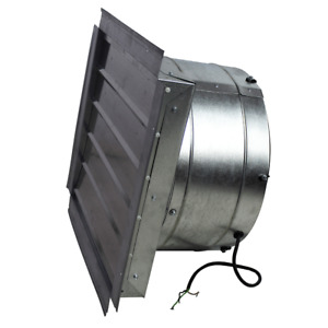 Ventamatic If18 18 inch 3 000 cfm Heavy Duty Exhaust Fan With Shutter If18ups
