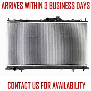 Radiator For Mitsubishi Galant 2004 2012 2 4 L4 Without Trans Cooler