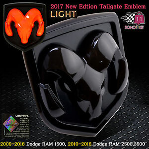 dodge tailgate emblem in stock replacement auto auto. Black Bedroom Furniture Sets. Home Design Ideas