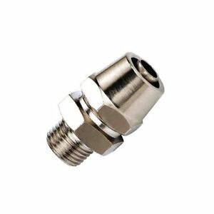 Pneumatic Gas Air Soft Tube Quick Connector Fitting 3 8 10mm Od To 1 4 Npt 10