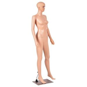5 8ft Giantex Female Mannequin Manikin Metal Stand Plastic Full Body Us Stock