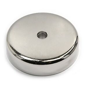 Cms Magnetics 405 Lb Pull Force Super Powerful Neodymium Cup Magnet 0 7 Thic