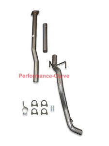13 15 Toyota Tacoma Cat Back Single Exhaust Side Exit Tailpipe Kit