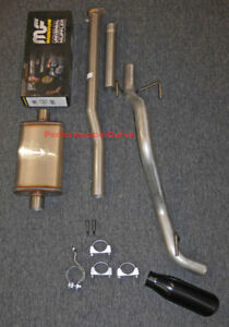 13 15 Toyota Tacoma Cat Back Single Exhaust Side Exit W Magnaflow 14 Body