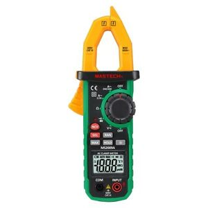 Mastech Ms2009c 6000 Count Digital Clamp Meter With Non contact Voltage Detector