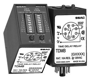 Ssac Tdmb411d Delay On Make delay On Break Time Delay Relay