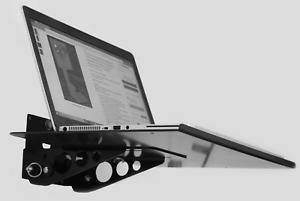 Sds Wall Mount Locking Tilt And Fold Laptop Station 12x16 Tray