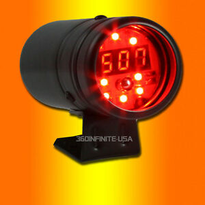 Add W1 Red Led Digital Tachometer Red Rpm Shift Light 4 6 8 Cylinders