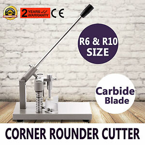 Corner Rounder Cutter R6 Card Photo Craft Trimmer Business Cards Photos