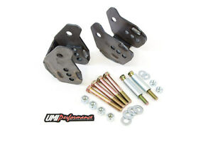 Umi Performance 64 72 Gm A Body Chevelle Weld In Control Arm Relocation Brackets
