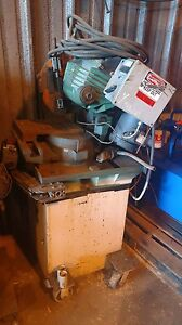 Two Identical Super Brown 350 Cold Saws