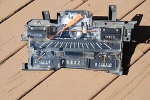 1969 Chrysler Newyorker Newport Speedometer And Gauge Cluster Assembly
