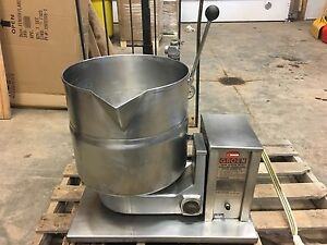 Groen Tdb 4 40 Steam Jacketed Manual Tilt Kettle 10 Gallon 40 Qt