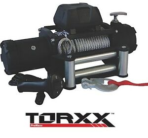Torxx 12000 Lb Series Wound 6 0 Hp Winch W 100 Steel Cable Universal Wor0120