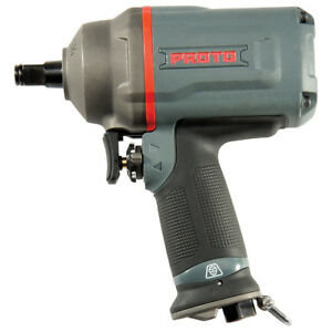 Proto J150wp 1 2 inch 7 225 rpm Titanium Ergonomically Drive Air Impact Wrench
