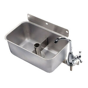 Krowne Metal 16 153l Front Mount Stainless Steel Dipperwell