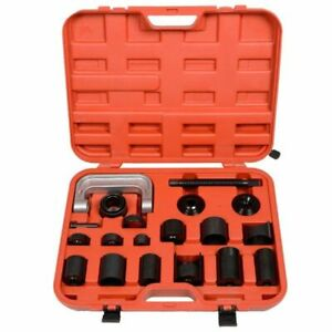 21pc Auto Ball Joint Press U Repair Removal Tool Installing Master Adapter 2 4wd
