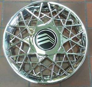 New 1998 2002 Hubcap 16 Rim Wheel Cover Chrome For Mercury Grand Marquis