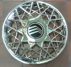 New 1998 1999 2001 2002 Mercury Grand Marquis Hubcap Rim Wheel Cover Chrome