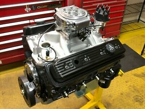 383ci Small Block Chevy Pro Street Engine Efi 500hp Built To Order Dyno Tuned