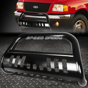 For 98 11 Ford Ranger Pickup Truck Black 3 bull Bar Push Bumper Grill Guard