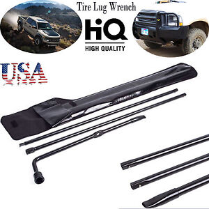 Spare Tire Lug Wrench Tool Kit Replace For Ford Superduty F250 F350 F450 F550 Us