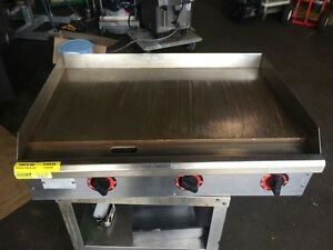 Star 36 Electric Griddle Grill 536tga Thermostatic Commercial Grade Plancha