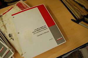 Case Lx146 Front End Loader Owner Operator Operation Manual Value Series Tractor