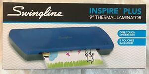 New Swingline Inspire Plus Thermal Laminator 9 Max Width Quick Warm up 1701801