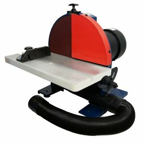RIKON 51-202 120-Volt 12-Inch 1.25-Hp Durable Disc Sander wGuard and Dust Hose