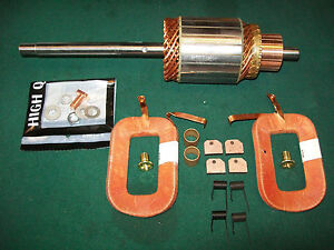 Delco Starter Armature Field Coil Kit 12 Volt Conversion Allis Chalmers B C Ca