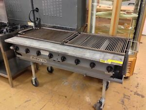 Magikitch n Outdoor Charbroiler Grill Radiant Magicater Propane lp Lpaga 60