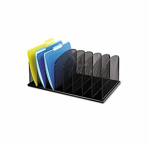File Folder Document Rack Office Mesh Desk Desktop Organizer Storage Tray Holder