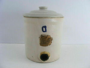 Antique Crock Water Filter Made By The Nappanee Water Filter Company