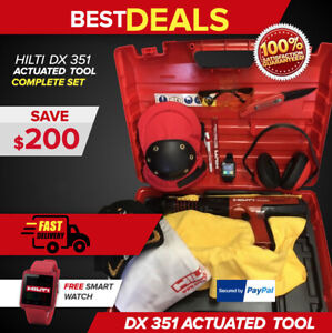 Hilti Dx 351 Actuated Power Tool Great Condition Free Smart Watch Fast Ship