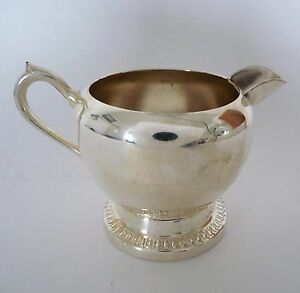 Fb Rogers Co Creamer Silverplate Vintage C1904 1955 Pattern 1211 Six Ounce