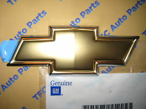 Chevy Cobalt Rear Trunk Bowtie Emblem Oem Genuine Gm New 2005 2010