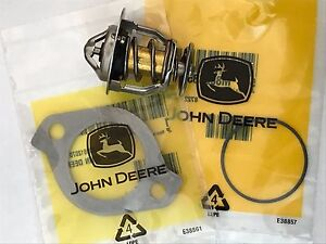 Thermostat For John Deere 770 790 870 970 990 1070 3120 3320 3520 3720 Tractor