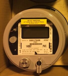 Elster Watthour Meter Kwh A1rl Fm16s 15s 14s 200a 120 480v Zero Reset