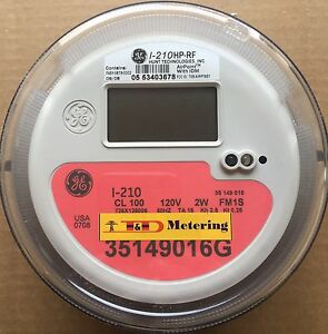 Ge General Electric Watthour Meter Kwh I 210 Fm1s 4 Lug 2w 120v 100a