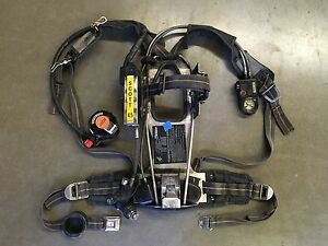 Scott 4 5 Ap50 Scba Cbrn Regulator Hud Rit uac Firefighter Air Pack 2002 Edition