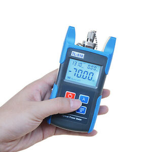 Fiber Optic Power Meter Tool Optical Tester Optical Light Source Sc fc Adapters
