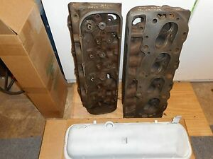 Gm 1966 Big Block Heads 390 400 Hp Dated K 22 l 5 Includes New Valve Covers