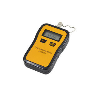 Mini Fiber Optic Power Meter Tool Optical Tester Sc fc st Adapters Portable
