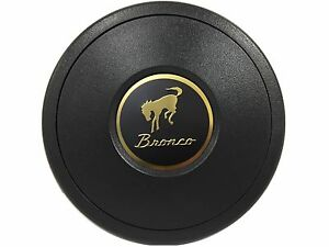 Volante S9 Black Horn Button Ford Bronco 3 d Foil Emblem