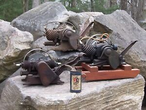 Lot Of 3 Maytag Engine Motor Hit Miss Wringer Washer And Oil Can