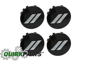 17 19 Dodge Challenger Charger 20 Gloss Black Wheel Center Cap Set Of 4 Mopar
